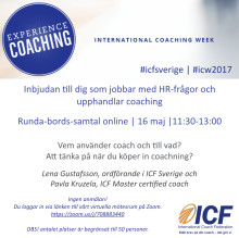 Runda bords samtal om coaching som en del av HR-arbetet