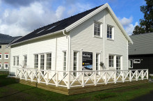 Tre nya hus invigs under visningshelgen