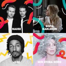Nause, Sofia Karlsson, Jaqe & Min Stora Sorg m.fl. till Malmöfestivalen!