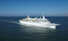 Belfast Harbour welcomes back Fred. Olsen Cruise Lines