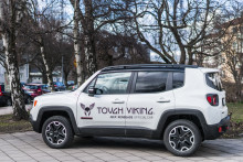 Jeep® är officiell bilpartner för Tough Viking
