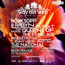 Pusha T, Brody Dalle, I Break Horses m.fl. till Way Out West