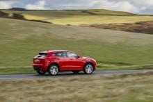 Fem stjerner til Jaguar E-PACE