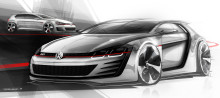 Volkswagen unveils Design Vision GTI at Wörthersee: 503 PS racing Golf shown at enthusiast gathering