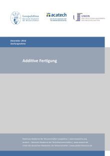 Stellungnahme Additive Fertigung