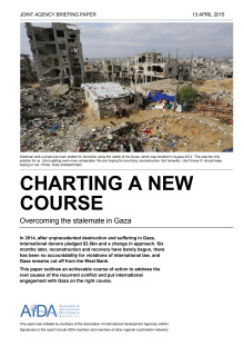 Briefing paper: Charting a new course - Overcoming the stalemate in Gaza