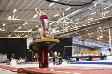 SM-guld  i manlig artistisk gymnastik för andra året i rad för David Rumbutis