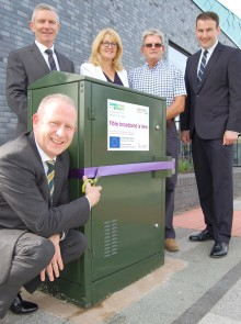Demand for high-speed fibre broadband soars with Connecting Cheshire