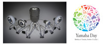 """ヤマハ発動機、ヤマハが合同デザインイベントを開催 乗り物のパーツによって構成された演奏装置「&Y03」を初披露  両社がともに思い描く""""理想の時間やシーン""""を「Tracks」のテーマに込め、デザインコンセプトモデルや製品展示、デモンストレーションを実施"""