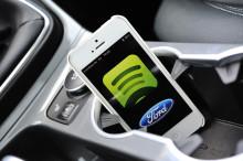 Ford och Spotifys samarbete ger streamad musik i bilen