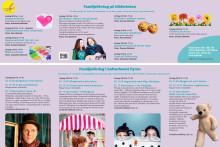 Bibliotekets barnprogram vår 2020