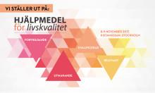 Etac på mässa Hjälpmedel för livskvalitet i Kista 8-9 nov