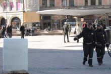 Islossning på Stureplan, Kungsportsplatsen och Stortorget startar grillsäsongen