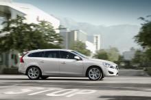 DRIVe-versioner av Volvo S60 och V60  - CO2-utsläpp på 114 och 119 g/km