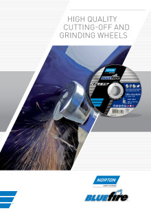 Brochure Norton Blue Fire cutting-off and grinding wheels