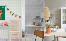 It has never been simpler to personalise your home - Eco Wallpaper launches Decorama EasyUp with 60 different wallpapers