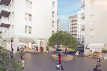 Förskola, gym, café och frisör i Einar Mattssons nya lokaler i Stadshuslunden