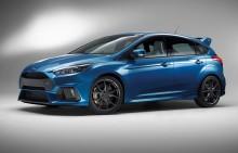 A Ford bemutatja a 350 lóerős, új Focus RS-t; Az izomautót Ken Block szabadítja rá Goodwood aszfaltjára
