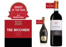 """Högsta utmärkelsen till Ferrari som korats till """"Winery of the Year""""  av Gambero Rosso"""