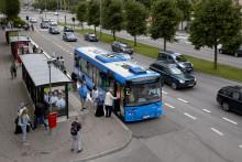 Västtrafik satsar på elbussar i Uddevalla