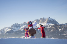SkiStars very popular Valle the snowman opens his own ski school in St. Johann