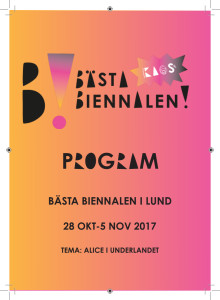 Program Bästa Biennalen Lund