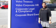 Digital mentoring program helpful in securing job at Volvo