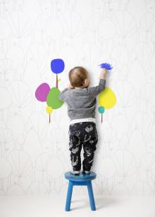 Fantasievolle Kinderzimmer, die zum Spielen anregen