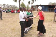 Vi støtter videregående skole i Kenya