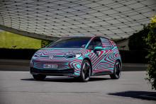 Fler än 30 000 förbokningar av Volkswagens nya elbil ID.3 1st Edition − stort intresse i Sverige