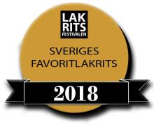 Årets finalister i Sveriges Favoritlakrits 2018