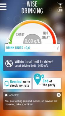 """Erfolg und Verantwortung gehen Hand in Hand: Pernod Ricard launcht """"Wise Drinking App"""""""