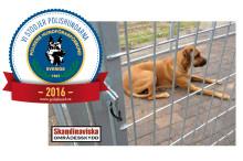 Skandinaviska stödjer Polisens hundförarförbund