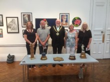 ​Mayor opens Bury Art Society's annual exhibition