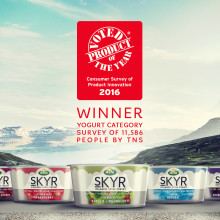 Arla skyr wins Product of the Year 2016