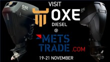 OXE Diesel displayed at METS-2019 119 to 21 November
