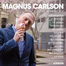 Magnus Carlson åker på sommarturné, släpper ny singel samt album exklusivt för UK