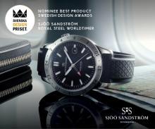 Sjöö Sandström, Royal Steel Worldtimer nominerad till Svenska Designpriset 2017