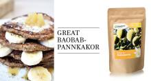 Vad sägs om baobabpannkakor?