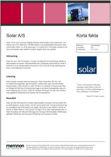 Kundcase Solar