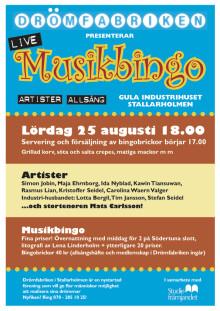 Musikbingo i Stallarholmen