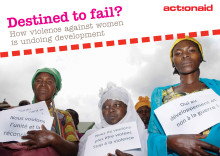 Destined to fail - rapport från ActionAid