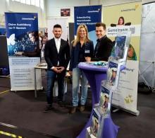 Schmetterling präsentiert sich erfolgreich als Arbeitgeber auf der Ausbildunsgmesse in Forchheim