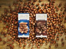 Nötälskare, se hit! Lindt kan stolt presentera ett helt nytt varumärke inom chokladkakor – Lindt Les Grandes!