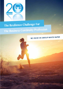 The resilience challenge for the business continuity profession