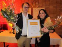 Lekolar vinner Årets Innovationspris i Osby Kommun