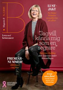 Bröstcancerförbundets Magasin B nominerat i Svenska Designpriset