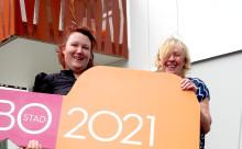 Mia och Britt-Marie flyttar in i första hyreshuset i BoStad2021