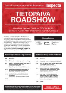Tietopäivä Roadshow kutsu, Vantaa, Tampere