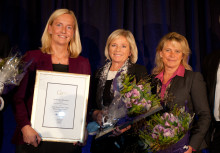 Cecilia Daun Wennborg vann Gabrielsen Award